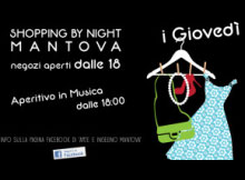 Shopping by Night Mantova 2014