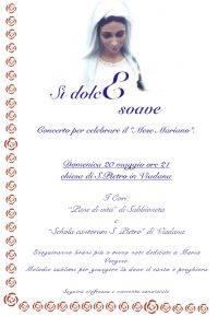 Sì Dolce Soave, concerto mese mariano Viadana (Mantova)