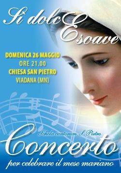 Concerto mariano Si Dolce e Soave Viadana (Mantova)