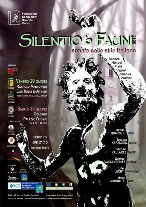 Silentio o Fauni, sonate nello stile italiano