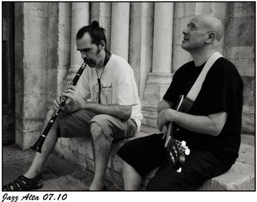 Simone Guiducci e Achille Succi, musica jazz