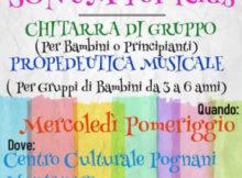 Sonum for kids corsi chitarra musica bambini Curtatone (Mantova)