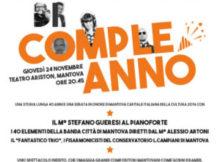 Uno spettacolo di compleanno Radiobase Mantova 2016