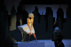 spettacolo Marilyn Monroe Pegognaga MN 2016