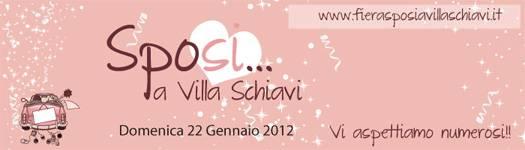 Sposi a Villa Schiavi Sermide (Mantova) 2012