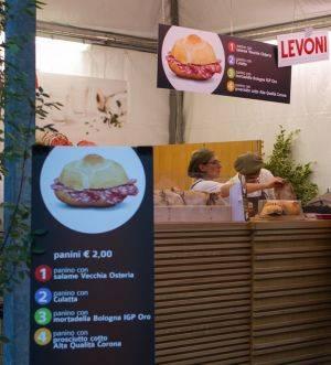 Panini con Salumi Levoni Festivaletteratura Mantova 2012