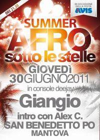 Summer Afro Sotto le Stelle a San Benedetto Po (MN)