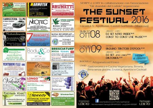 Sunset Festival 2016 Castel Goffredo Mantova