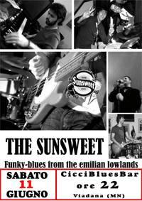 The Sunsweet, musica CicciBluesBar Viadana (MN)