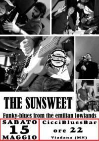 The Sunsweet al Ciccibluesbar di Viadana 15 Maggio 2010
