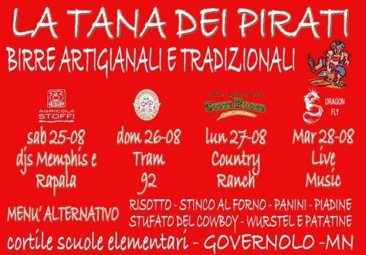 Tana dei Pirati Governolo (Mantova) Festa della Birra 2012