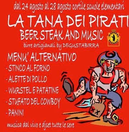 Tana Dei Pirati Festa della Birra 2013 Governolo (Mantova)