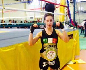 Camilla Tarozzi kick boxing