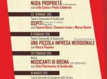 Stagione 2014 2015 Teatro Comunale di Guidizzolo (MN)