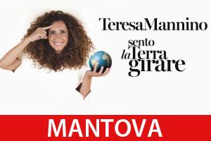 Teresa Mannino Sento La Terra Girare Mantova 2018