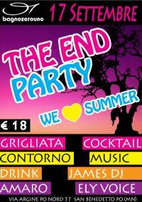 The End Party al Bagno Zero Uno di San Benedetto Po (Mantova)