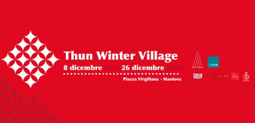 Thun Winter Village mercatini Natale 2016 Mantova