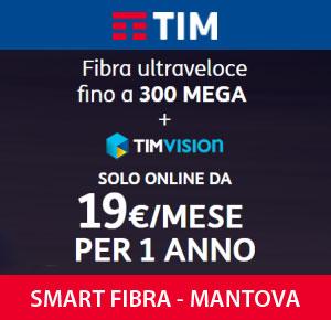 Internet Fibra Ottica Mantova TIM Smart Fibra