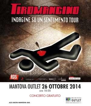 Concerto Tiromancino Mantova Outlet Bagnolo San Vito (MN)