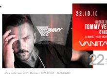 Tommy Vee Mascara Vanità Club Mantova 22 ottobre 2016