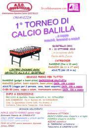 Torneo Calcio Balilla Quistello (MN)