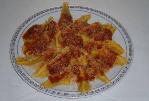 Tortelli di zucca viadanesi - Viadana (Mantova)