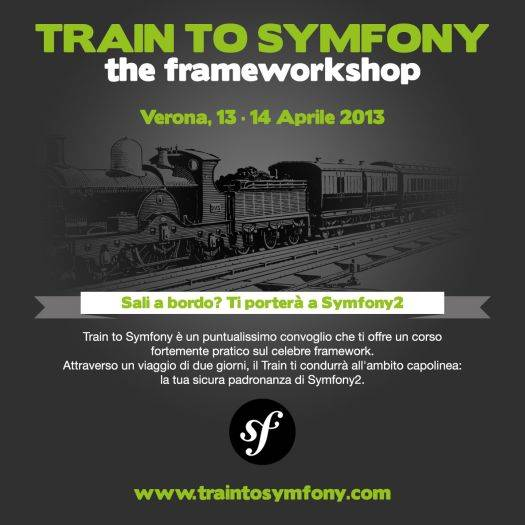 Train to Symfony: corso Symfony2 a Verona
