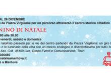 Trenino Natale 2016 Mantova
