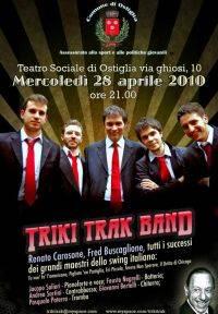 Triki Trak Band al Teatro Sociale di Ostiglia