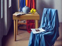 Ugo Celada Lo Studio, olio su tela ,1947