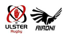 Heineken Cup Rugby: Ulster-Aironi 30-6