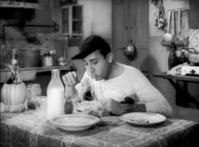 Alberto Sordi Un americano a Roma spaghetti