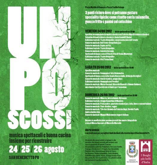 Un Po Scossi 2012 San Benedetto Po (Mantova)