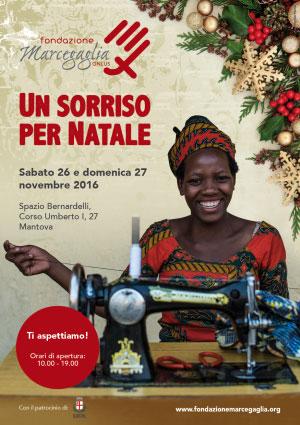 Un Sorriso per Natale 2016 Mantova Fondazione Marcegaglia Onlus