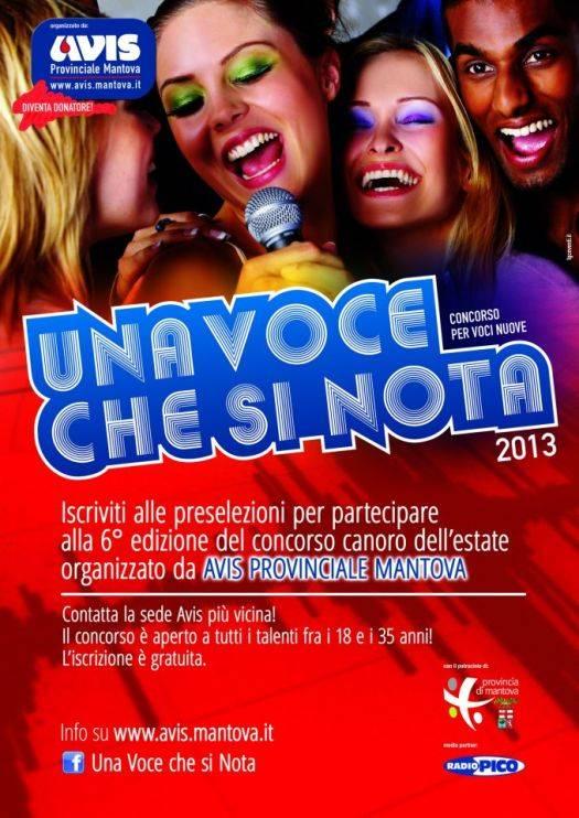 Una Voce Che Si Nota 2013 Mantova