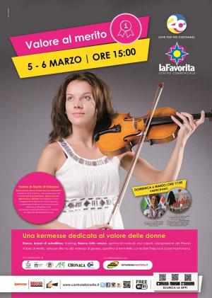 Valore al Merito 2016 Mantova Centro Commerciale La Favorita