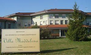 Villa Maddalena a Goito (Mantova)