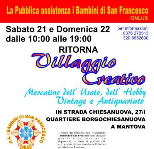 Villaggio Creativo 2012 a Borgochiesanuova Mantova