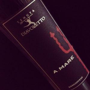 vino Sangiovese A.Mare Tenuta Diavoletto