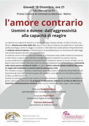 Violenza donne Ethics Expo Mantova