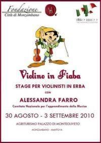 Violino in Fiaba a Monzambano, Mantova