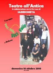 Corale Voci in Valle a Sabbioneta (Mantova)