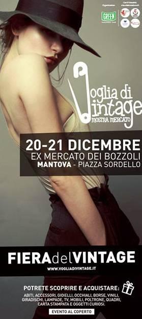 Fiera Voglia di Vintage Mantova dicembre 2014