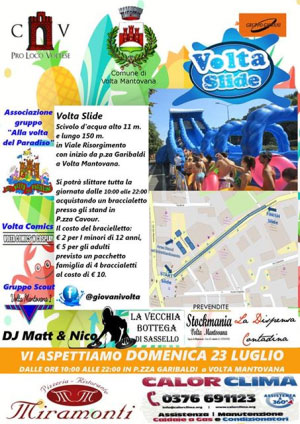 Volta Slide Volta Mantovana (MN) 2017