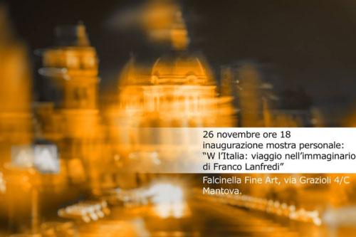 W Italia mostra fotografica Franco Lanfredi Mantova Falcinella Fine Art 2016
