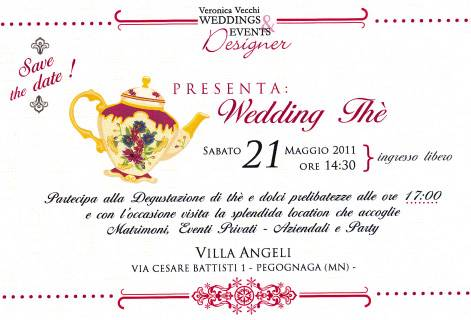 Wedding Thè Villa Angeli Pegognaga (Mantova) 21 maggio 2011