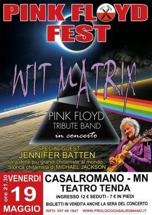 Pink Floyd Fest 2017 Casalromano (Mantova)