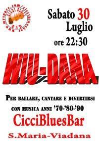 Wiu Dana al Ciccibluesbar di Viadana (Mantova)