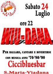 Concerto Wiu-Dana al Ciccibluesbar di Viadana