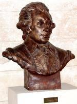 Busto di Wolfgang Amadeus Mozart